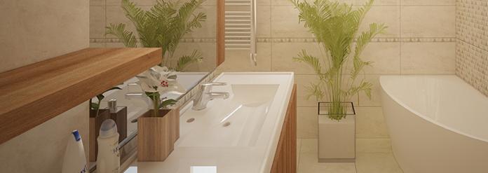 Fürdőszoba online lakberendezése