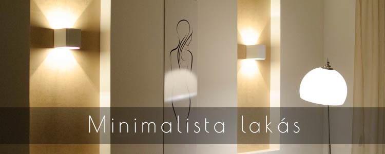 Minimalista lakás portfólió fejléce