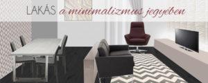 Lakás a minimalizmus jegyében
