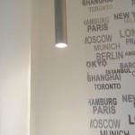 kis lakás modern lámpa