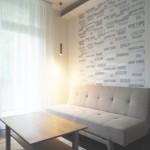 kis lakás modern nappali