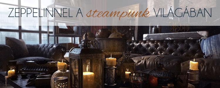 Zeppelinnel a steampunk világába!.