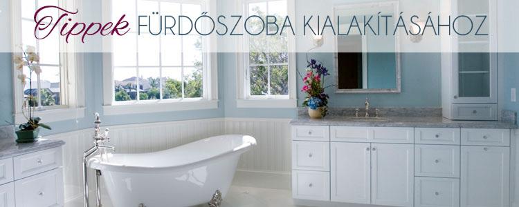 Tippek fürdőszoba kialakításához