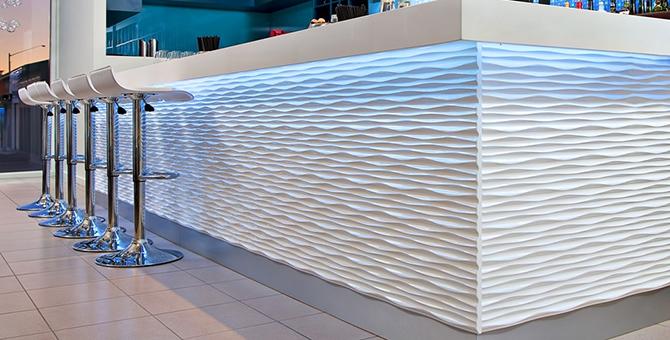 3d Metal Wall Panels : A falburkolatok új dimenziója d panelek hét levél