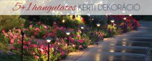 5+1 hangulatos kerti dekoráció