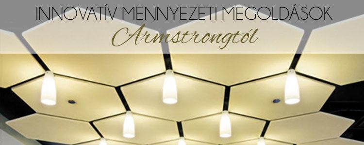 Innovatív mennyezeti megoldások Armstrongtól