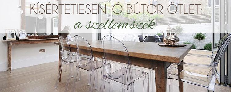 Kísértetiesen jó bútor ötlet a szellemszék blogbejegyzés