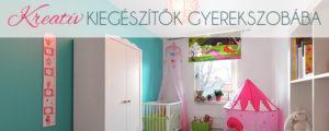 Kreatív kiegészítők gyerekszobába