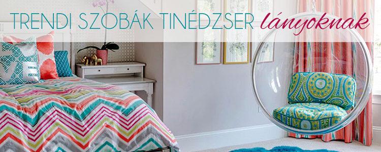 Trendi szobák tinédzser lányoknak blogbejegyzés