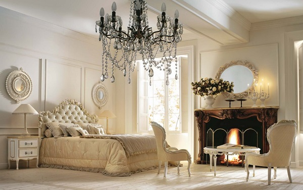 Klasszikus stílusú hálószoba