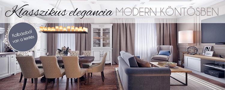 Klasszikus elegancia modern köntösben