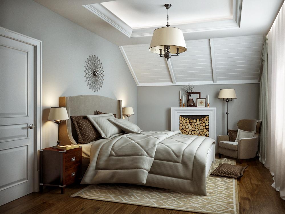 Klasszikus elegancia modern köntösben, hálószoba