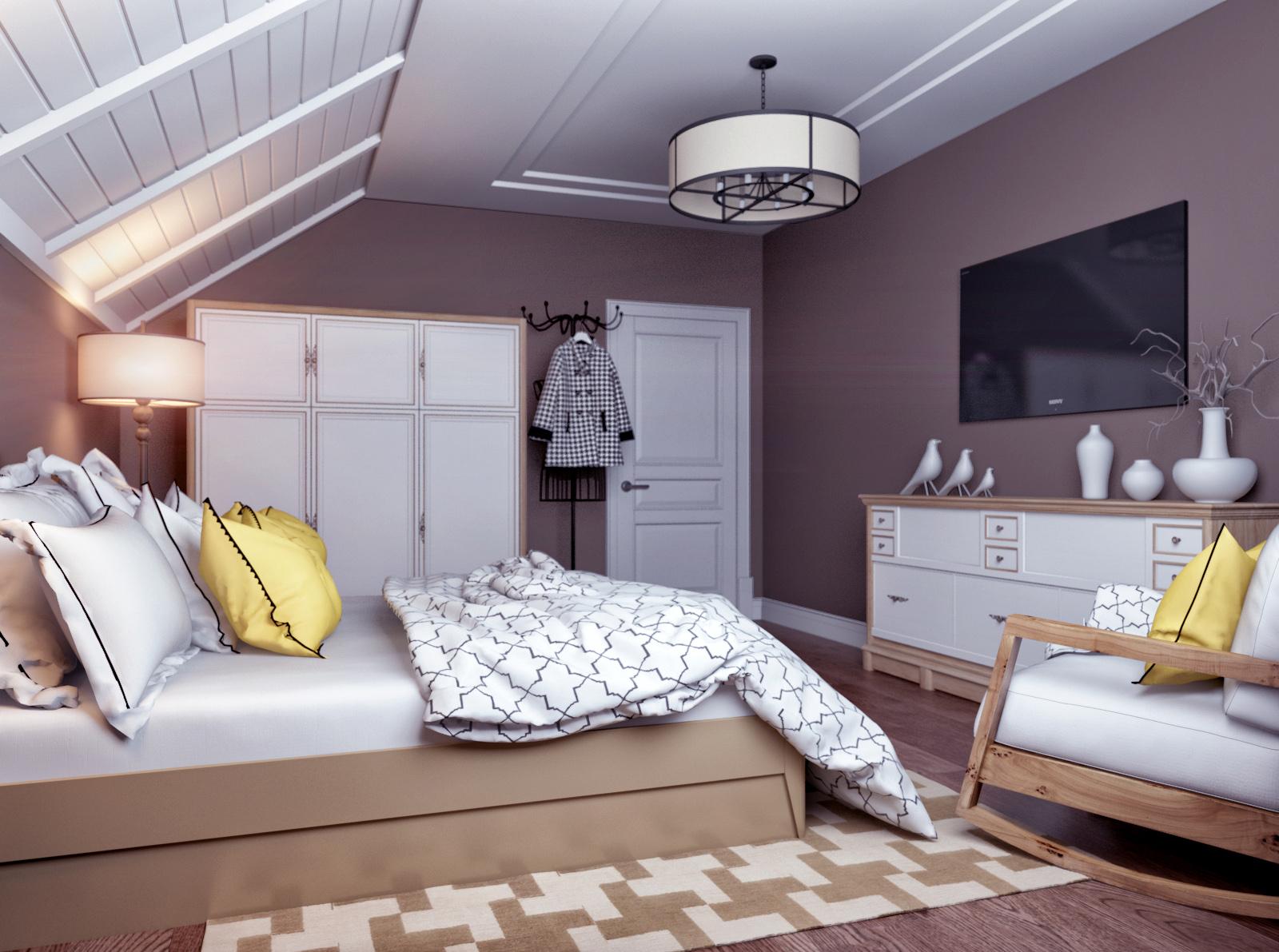 Klasszikus modern hálószoba