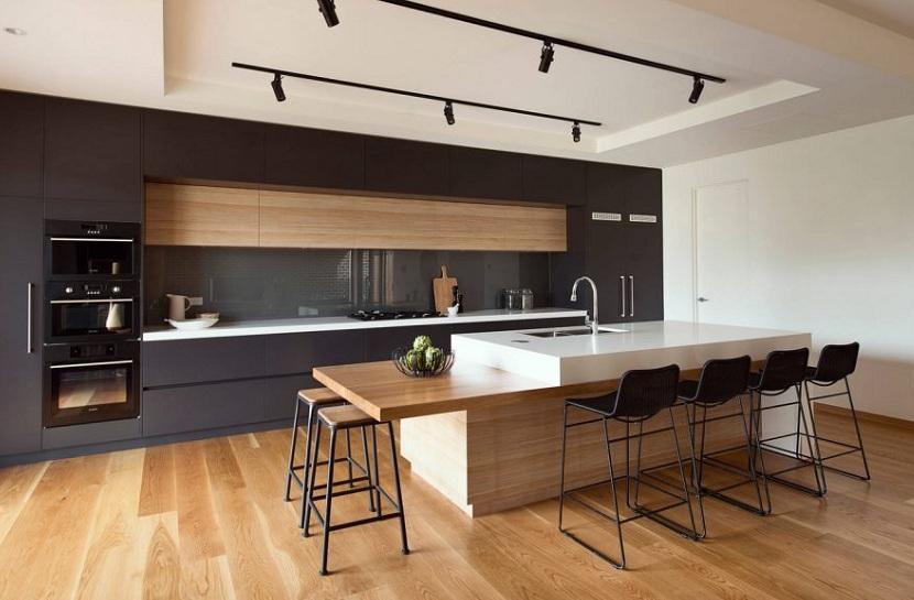 Konyhasziget modern konyhában