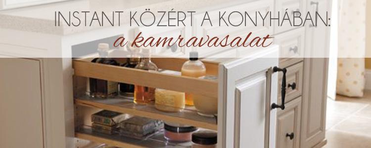 Instant közért a konyhában: a kamravasalat