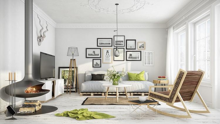 Képgaléria nappaliban