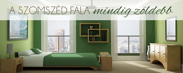 A szomszéd fala mindig zöldebb blogbejegyzés