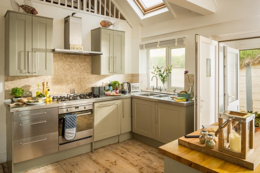 Otthonos nyaraló konyhája