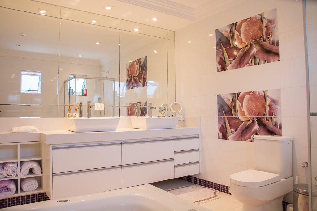 Fürdőszoba burkoalt