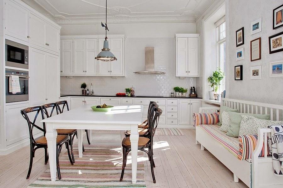 Skandináv konyha és étkező