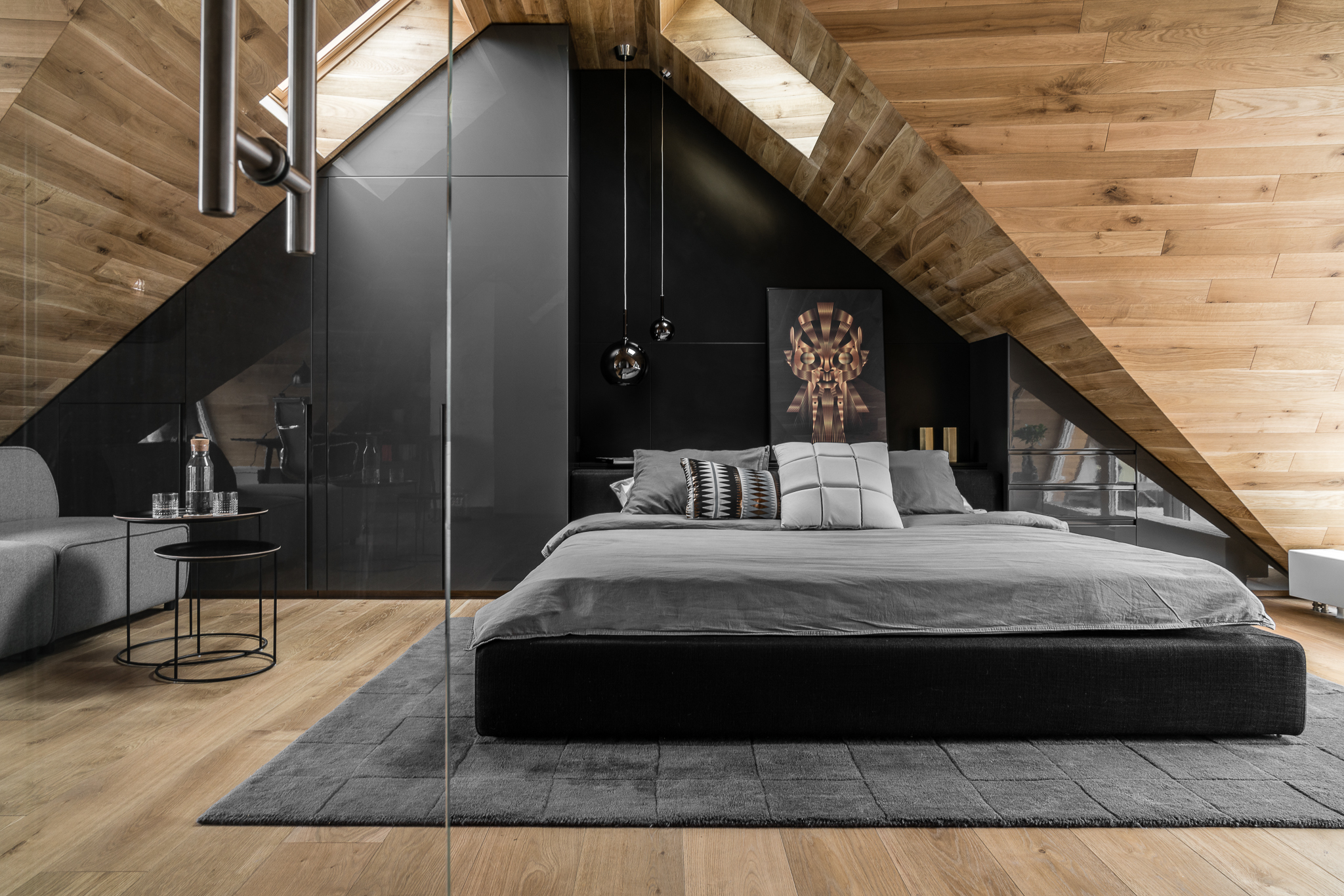 Tetőtéri hálószoba