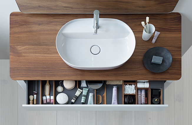 duravit luv design mosdó fiókja