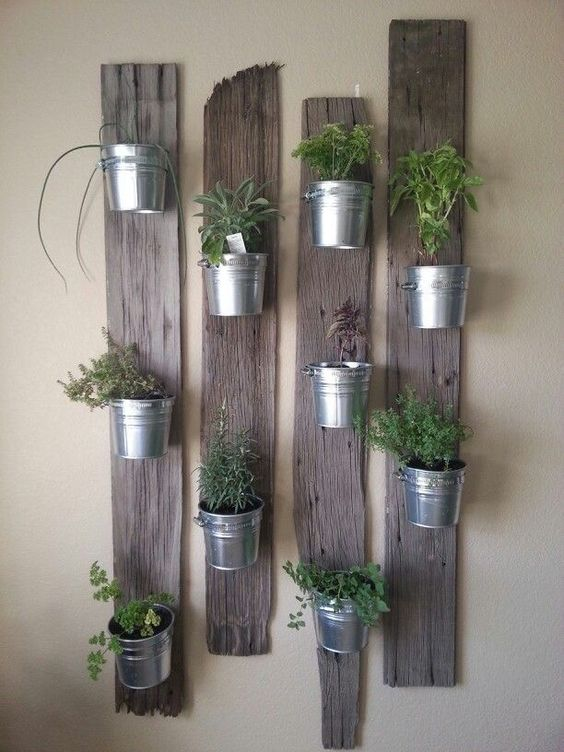 Falra akasztható kertek