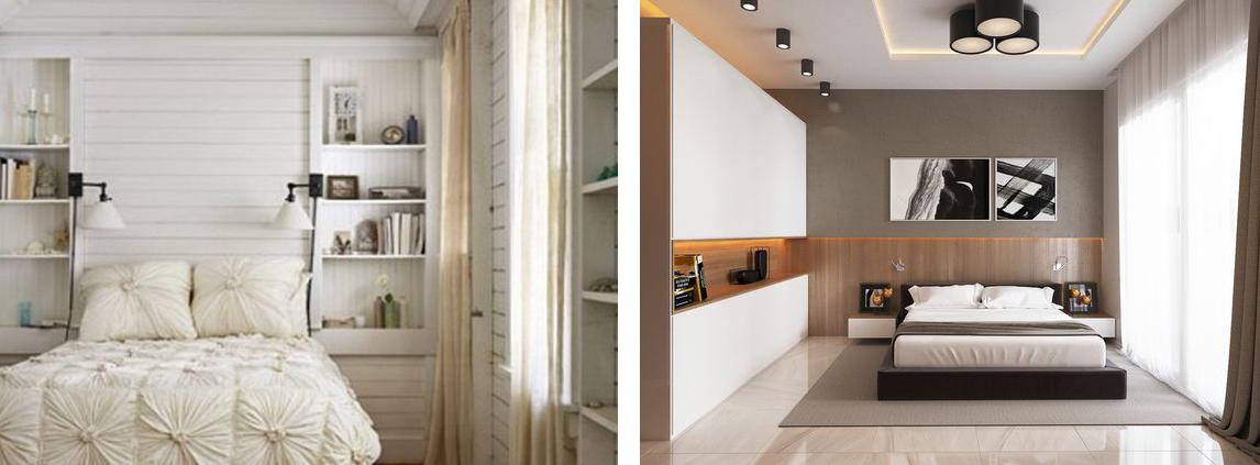 Szüleink hálószobája és egy minimal hálószoba - Lakberendezési stílusok