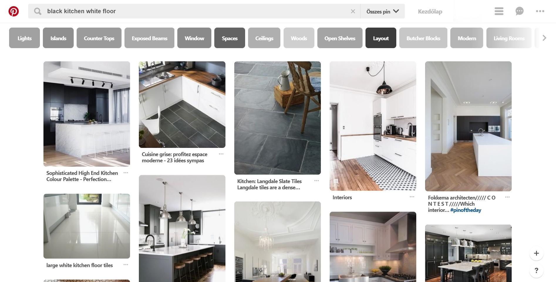 Stíluskereső - Pinterest hasonló képek - Lakberendezés