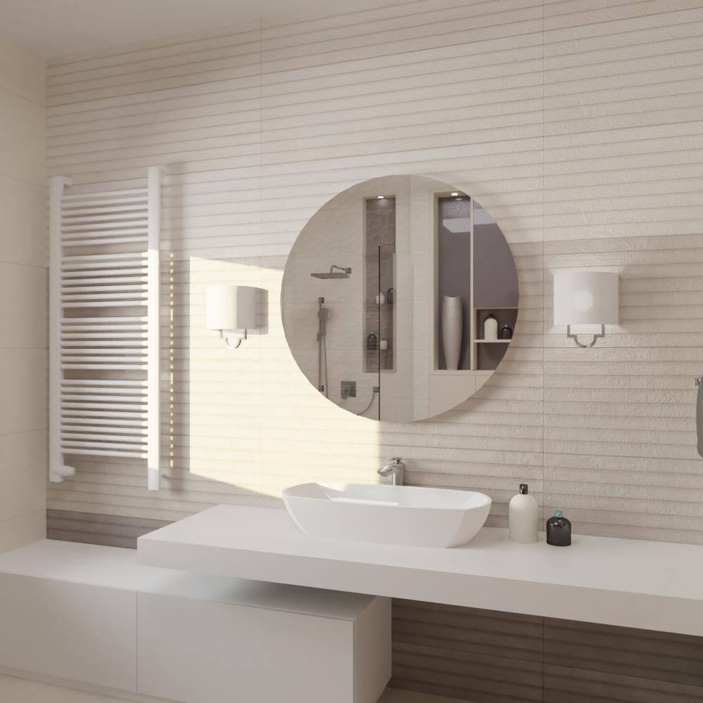 Fürdőszoba mosdó fala