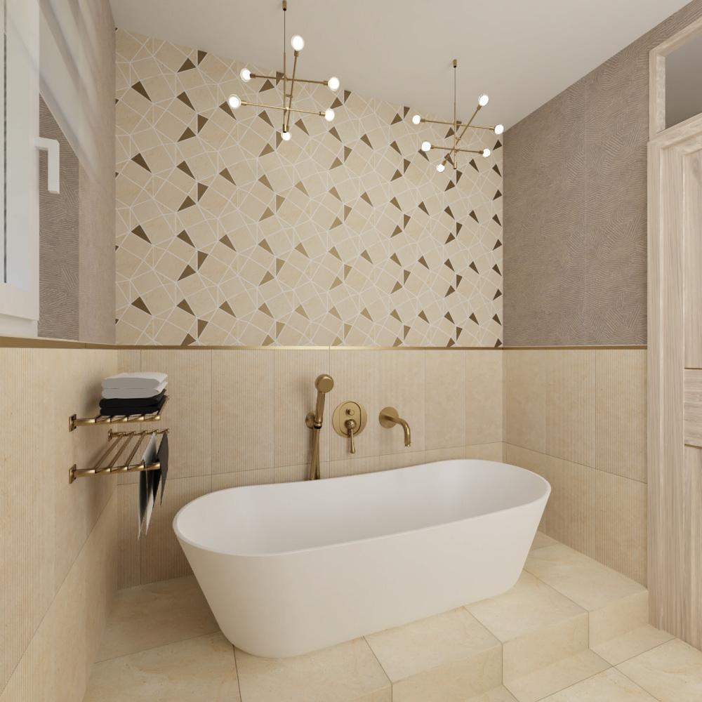 Klasszikus kis fürdőszoba