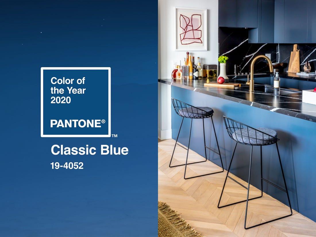Pantone 2020 színe: Classic Blue