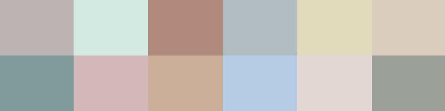 Valspar 2020 színei